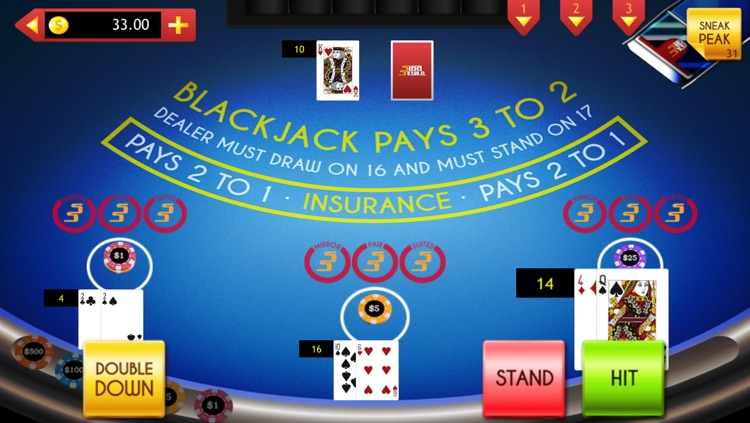 Blackjack with Side Bets & Cheats