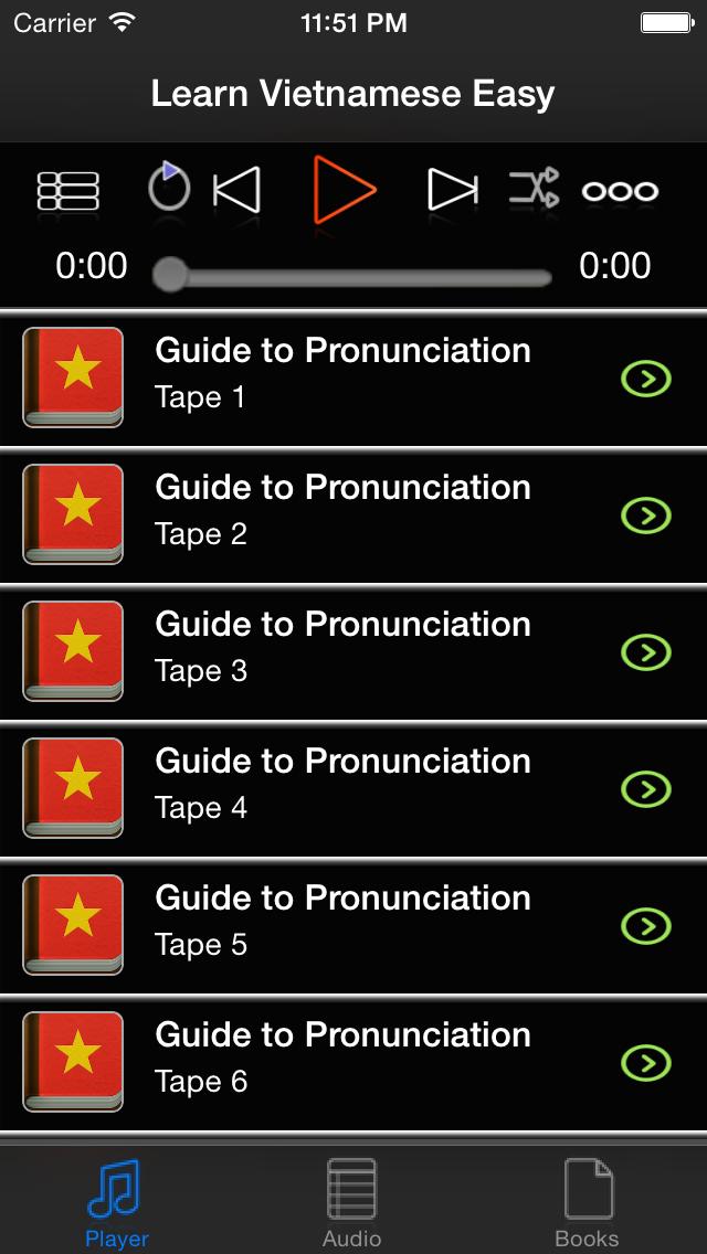 Learn Vietnamese Basic screenshot three