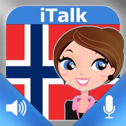 iTalk Norwegian: Conversation guide - Learn to speak a language with audio phrasebook, vocabulary expressions, grammar exercises and tests for english speakers HD