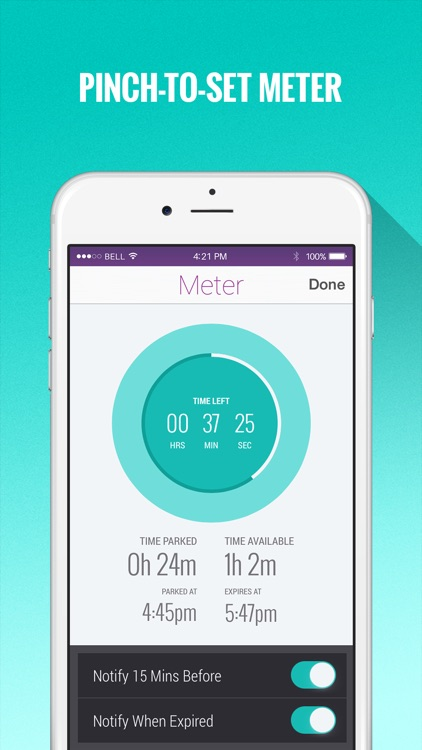 Parking Pin™ - Automatic GPS Parking Spot Tracker with Map & Meter screenshot-3