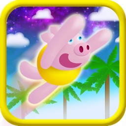 Crazy Mega Pig Jumping Game for Kids