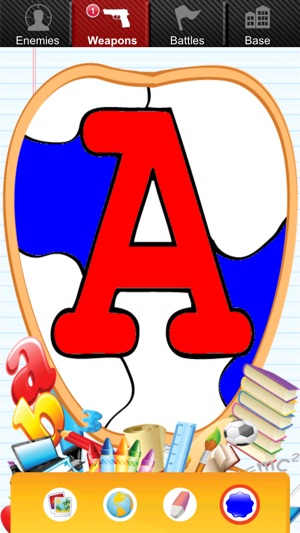 Alphabet Coloring for Kids