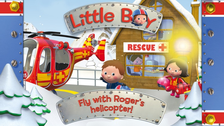 Roger's helicopter - Little Boy screenshot-0