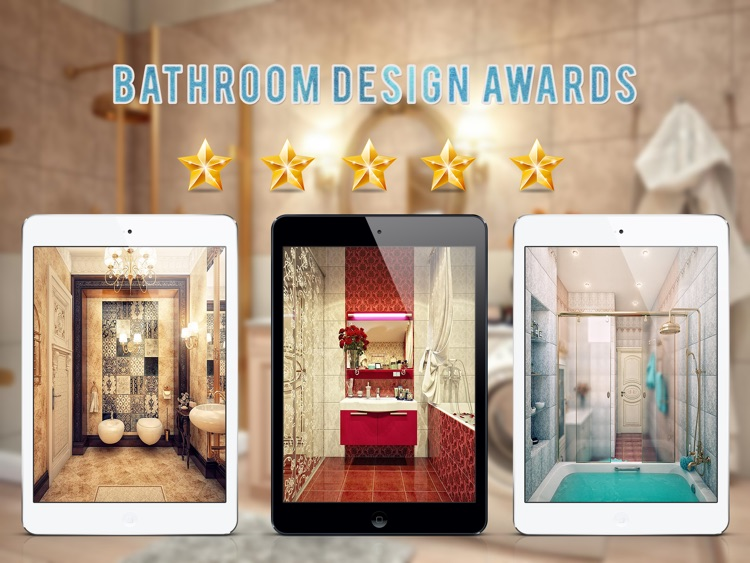Stunning Bathroom Design Ideas for iPad screenshot-1