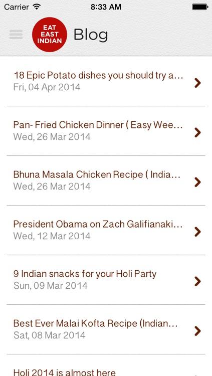 Eat East Indian Food
