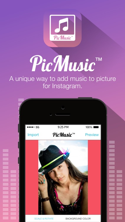 Pic Music for Instagram - Pic Play Music Musical on Picture with Text or Caption or Quote