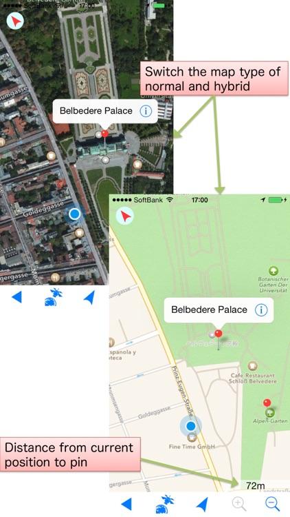 Offline-Map Lite ( Overseas travel companion map )
