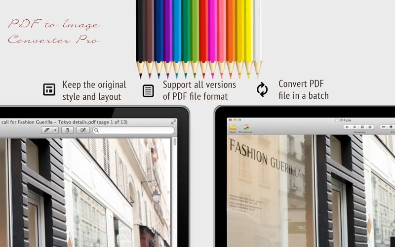 PDF to Image Converter Lite скриншот программы 2