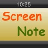 Screen Note Maker - iPhoneアプリ