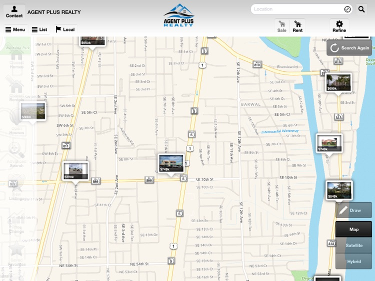 Agent Plus Realty - Search Homes for Sale for iPad screenshot-1