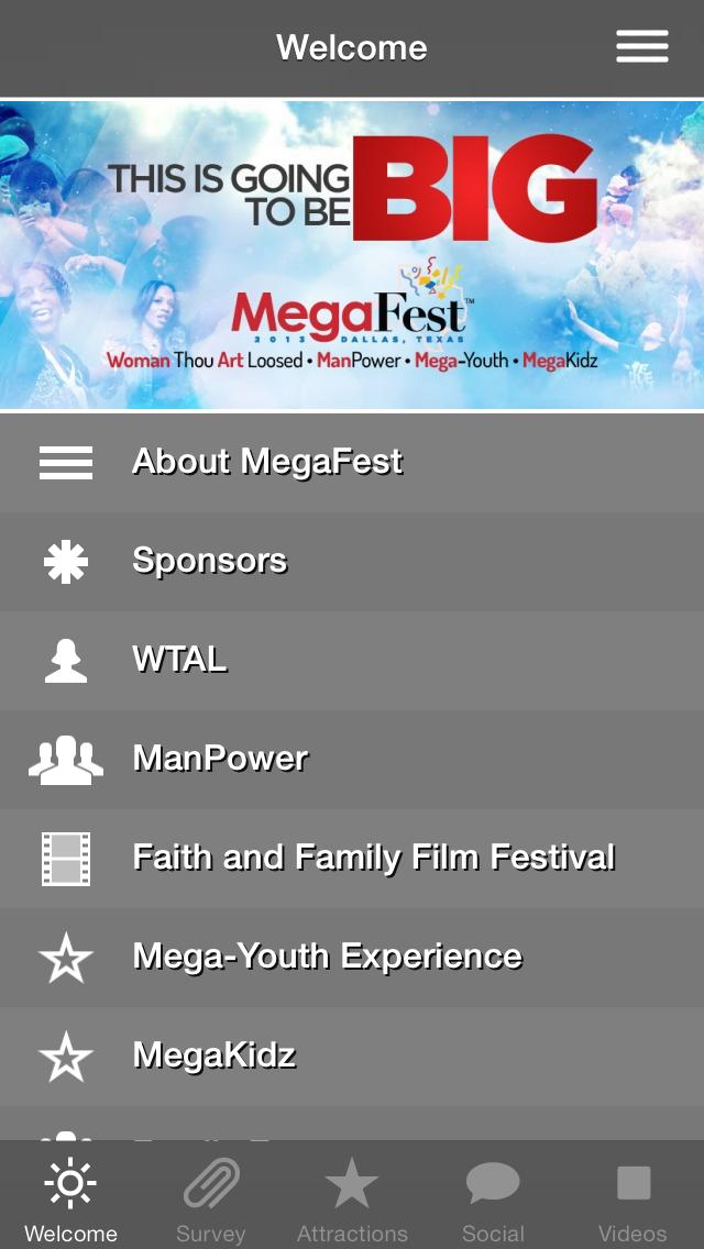 T D  Jakes MegaFest Conference App - App - iOS me