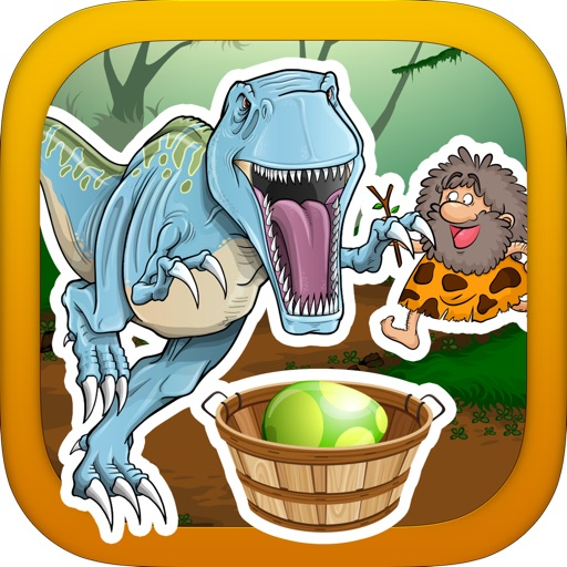A Prehistoric Stone Age War with Dino Beasts- Catch the