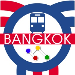 Bangkok Metro Map Transport - Sky train and Boat