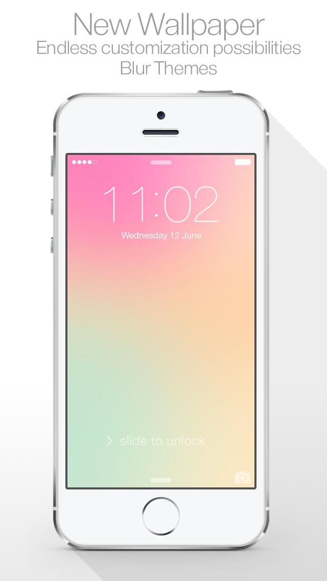 Blur Themes ( for Lock screen, Home screen, Messenger Wallpapers ) screenshot one