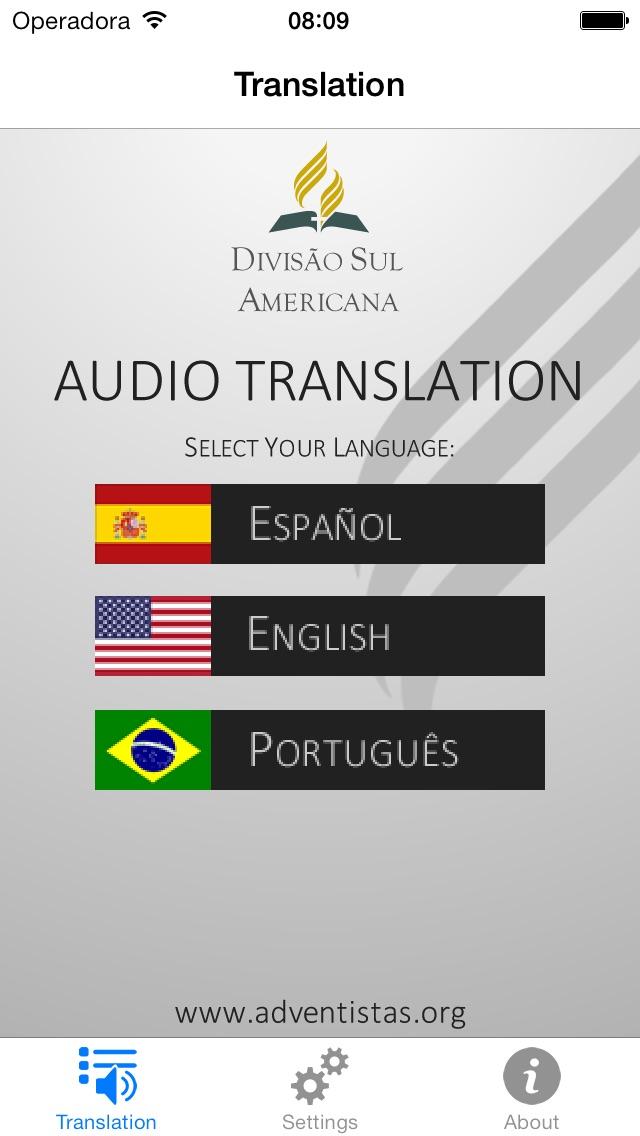 Translation app image