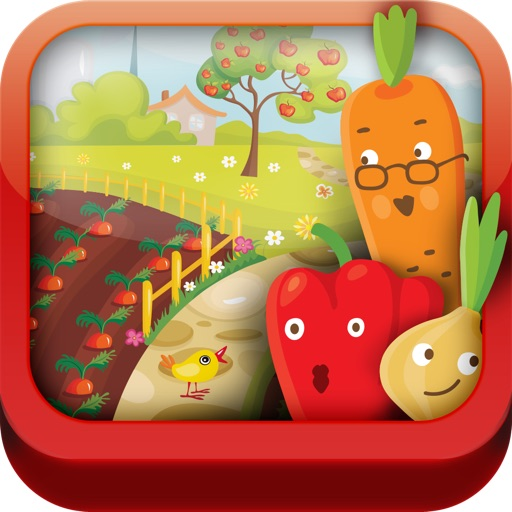 Learn Veggies - Set of Educational Games for Preschool Kids by ABC Baby icon