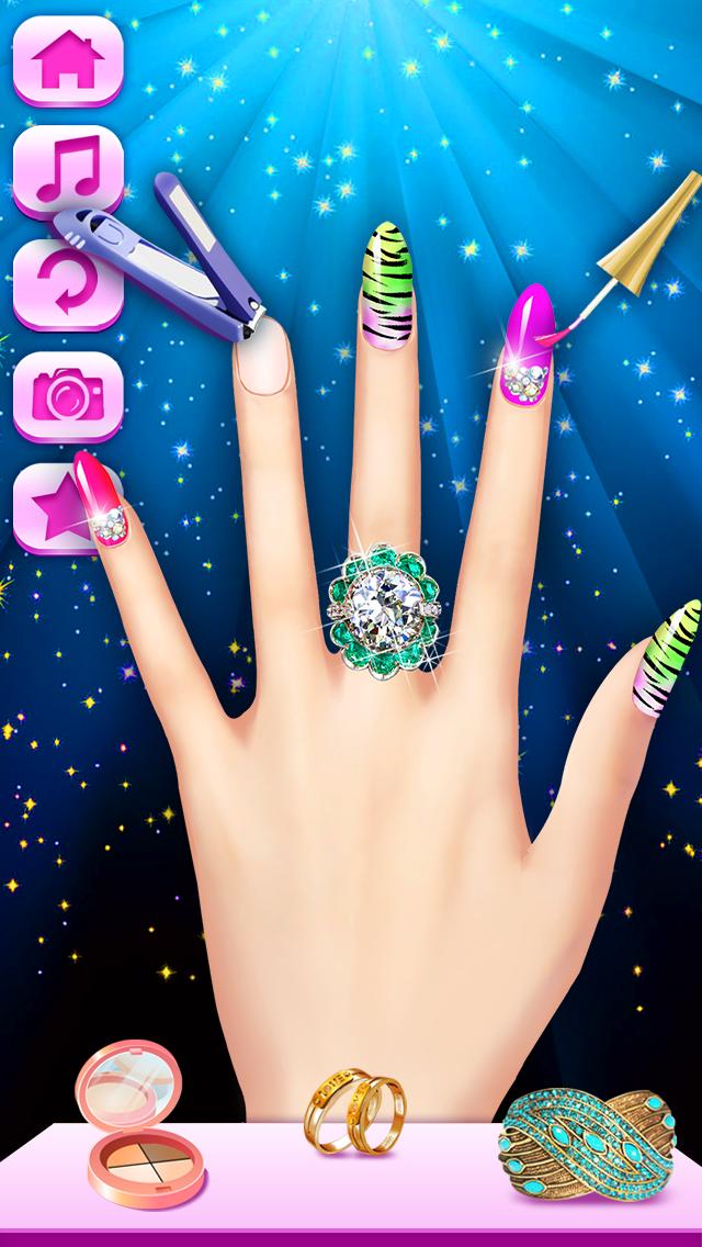 Nail Salon - Girls Gamesのおすすめ画像1