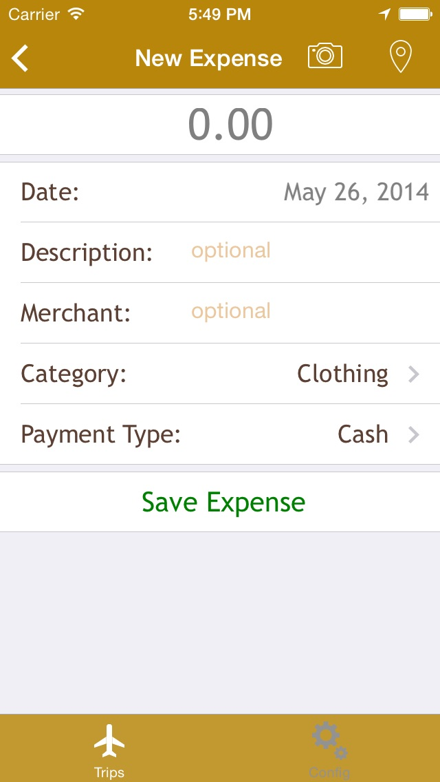 trip expenses app to track your travel expenses by sebastiao