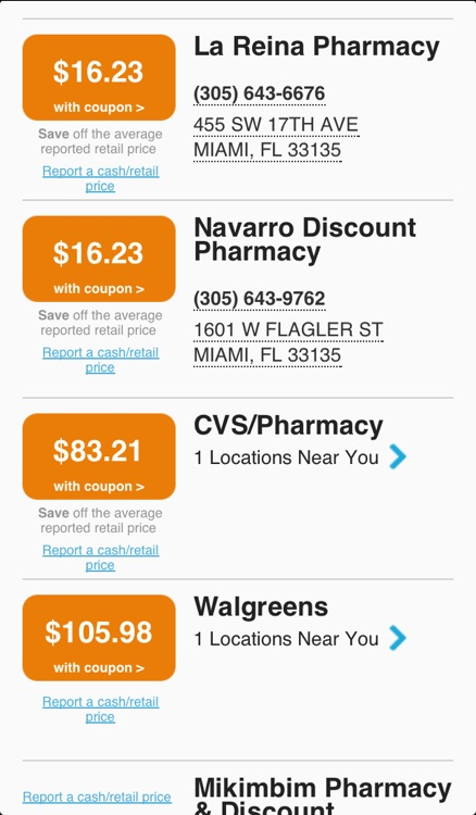 WeRx: Prescription Medication Price Transparency & Savings