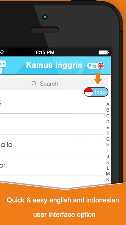 Kamus Inggris Indonesia Edition For iOS 7 screenshot-1