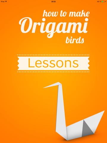 How to Make Origami Birds screenshot