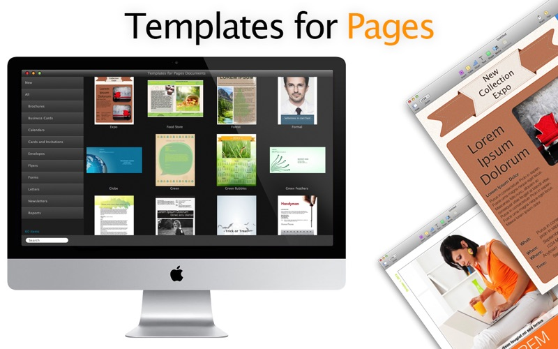 Templates for Pages Documents Screenshot