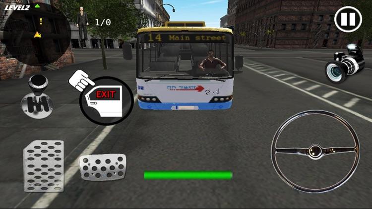 Crazy Bus Simulator 3D screenshot-4
