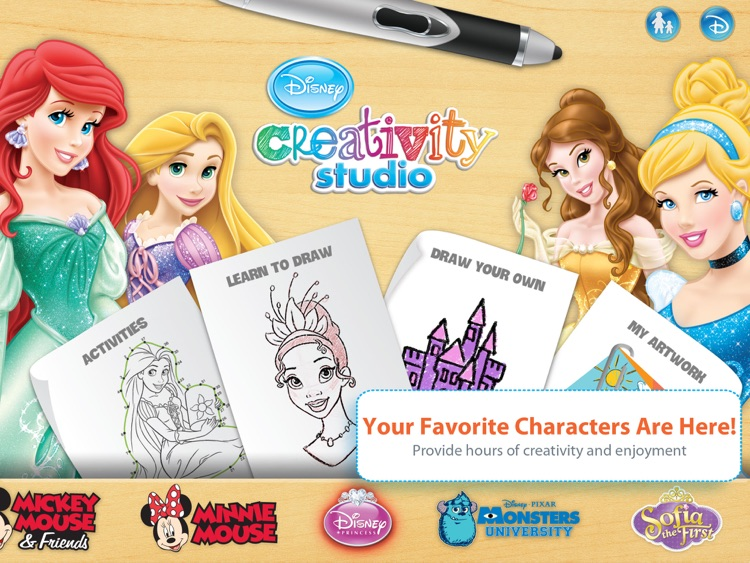 Disney Creativity Studio screenshot-1