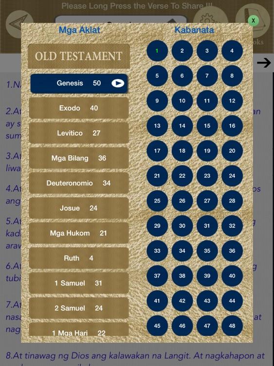 Tagalog Bible Offline screenshot-3