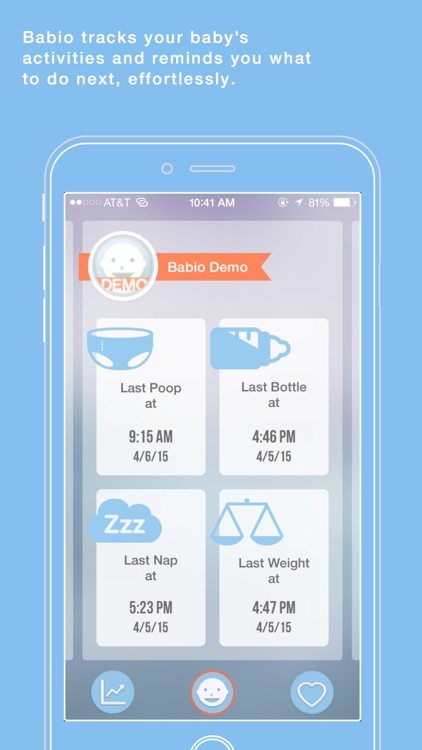Babio - Baby Activity Tracker & Reminder, Simplified