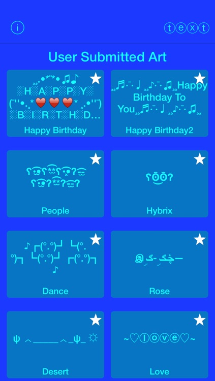 Cool Text Art Free - Add fun emoticons to messages or social network updates with the greatest of ease!