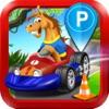Horse Car Parking Driving Simulator - My 3D Sim Park Run Test & Truck Racing Games!
