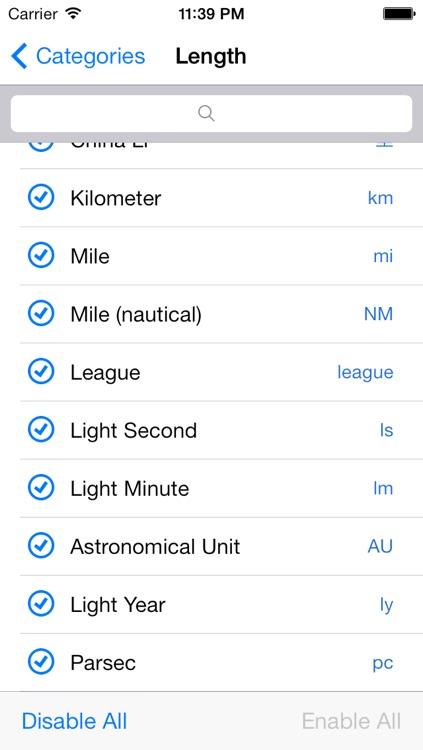 gUnit - Currency & Unit Converter (Conversion) screenshot-4