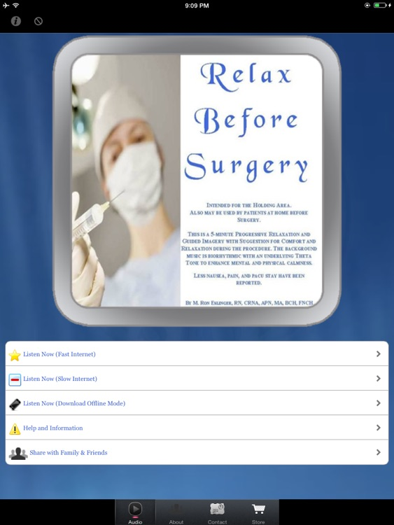 Relax Before Surgery for iPad