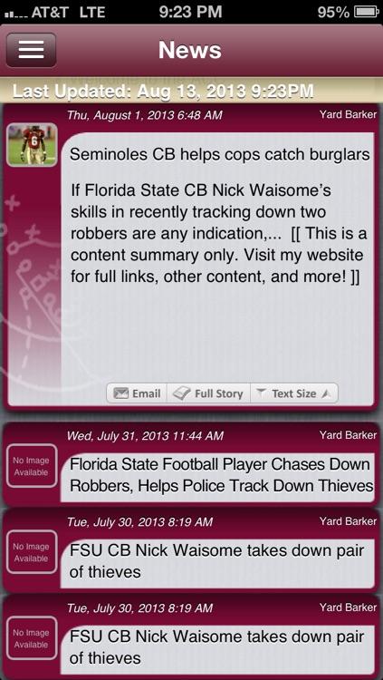 Florida State Football Live