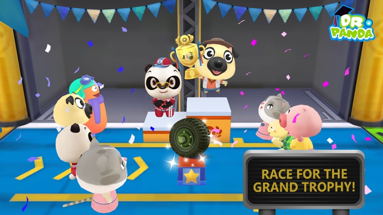 Dr. Panda Racers screenshot-4