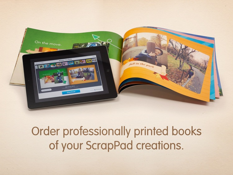 ScrapPad - Scrapbook for iPad screenshot-4