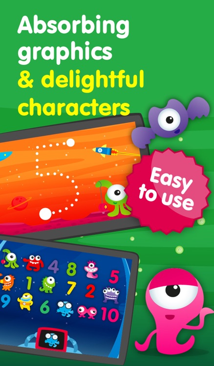 Aliens & Numbers - games for kids to learn maths and practice counting (Premium) screenshot-3
