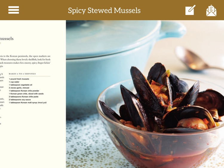 Korean Cookbook for iPad screenshot-4