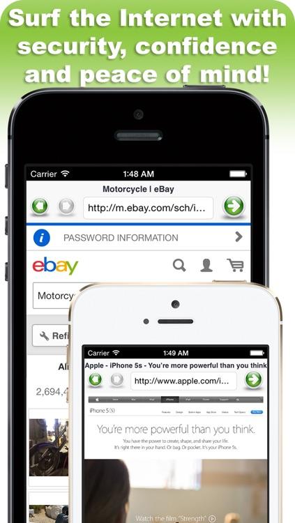 Secure Web Browser screenshot-4