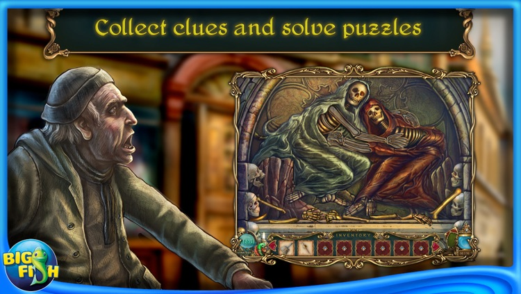Haunted Legends: The Undertaker - A Hidden Object Adventure