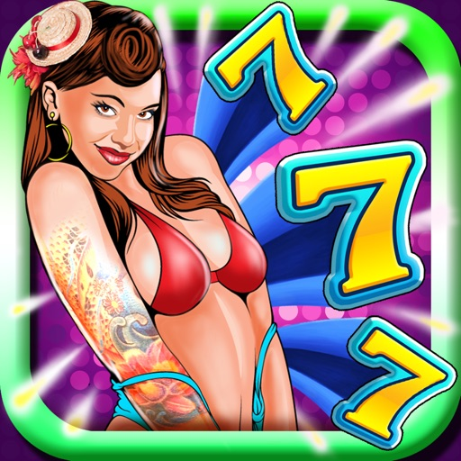 Golden Palace Casino Presents: 'Rockabilly Girls House Party Slots' – Free Lucky Slot Machine