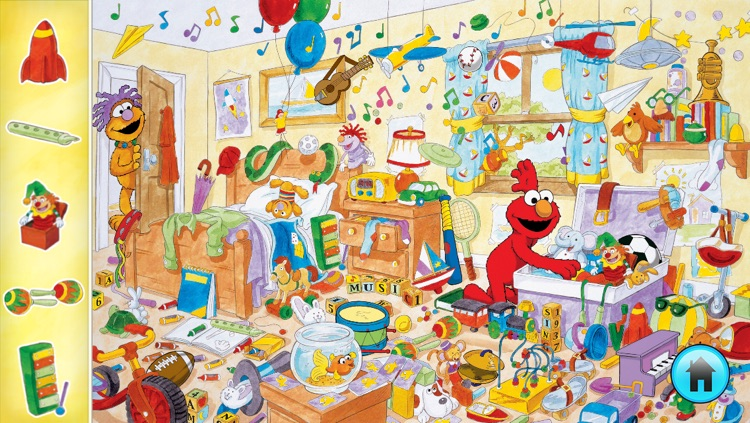 Look and Find® Elmo on Sesame Street