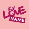 Digital Native - LOVE 名前相性占い - 相性チェック アートワーク
