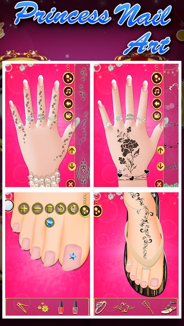 Princess Nail Art - by GameiMax - Games Category - AppGrooves Best Apps