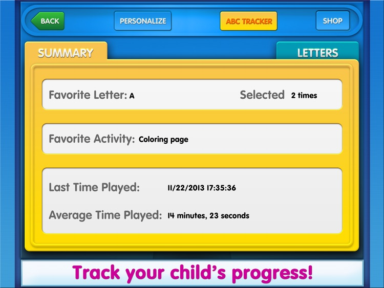 Elmo Loves ABCs for iPad screenshot-4