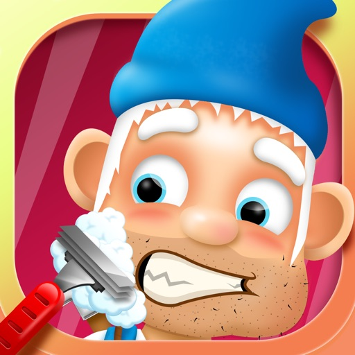Shaving Crazy Gnomes – A Messy Hairy Shave Makeover !