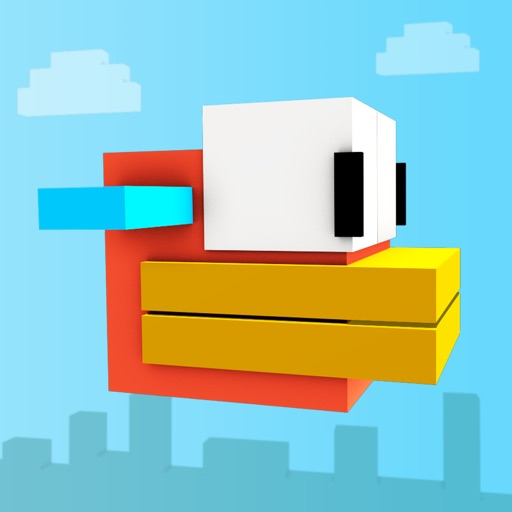 Block Bird - 3D Flappy Flyer