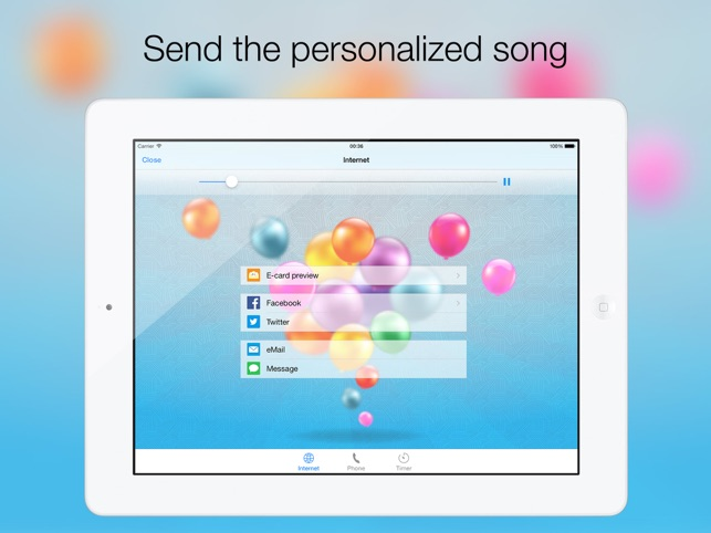 Birthday Songs with Calendar - Happy Birthday Show! on the App Store