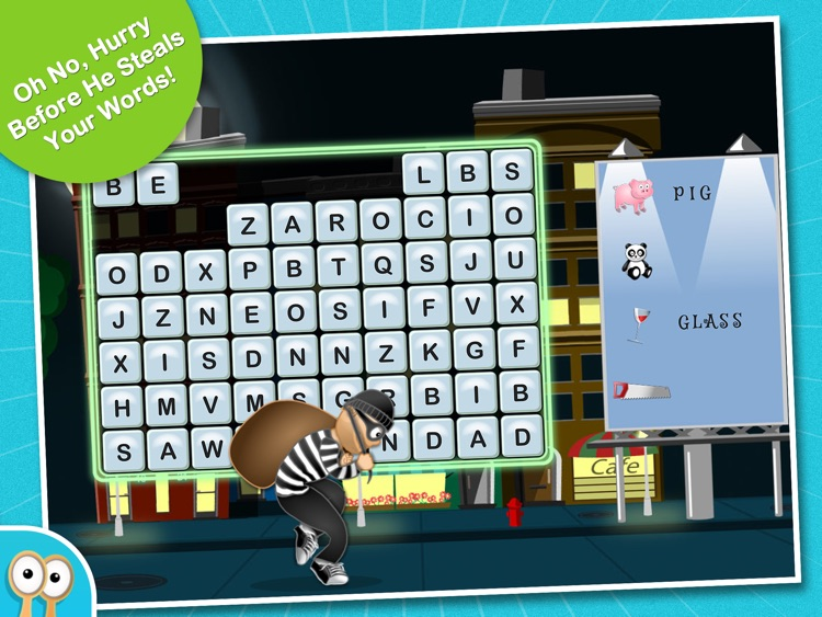 Happi & The Word Thief - A Hidden Word Spelling Game by Happi Papi